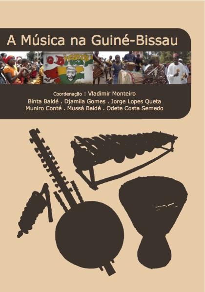 Capa do livro A Música na Guiné-Bissau