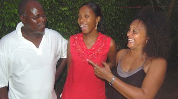 Atchutchi, Karina Gomes e Dulce Neves